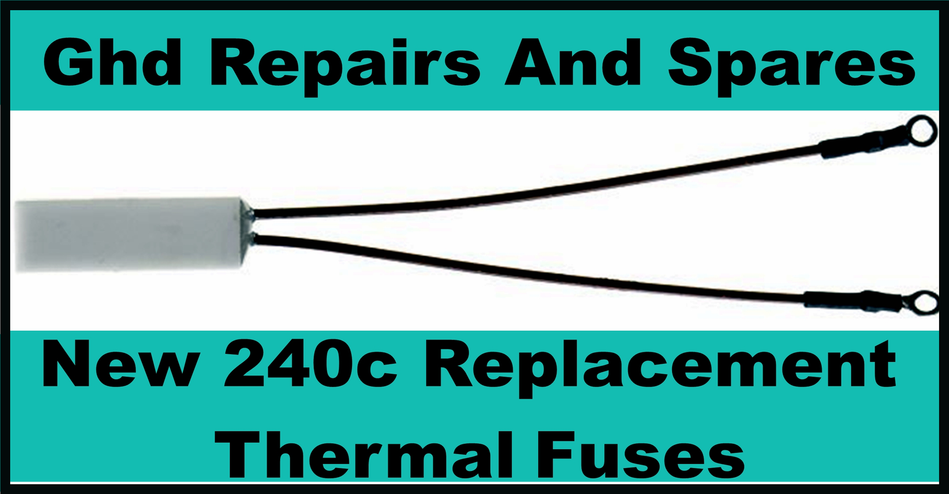 Thermal Fuse For Ghd Hair Straighteners For Repairs 1x 2x