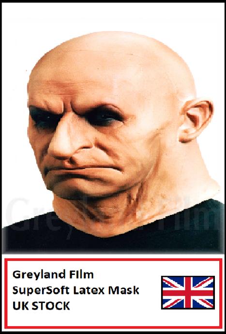 "Greyland Film Soft Latex Mask /""EPILSINO/"" Hard Man Realistic male  Mask"