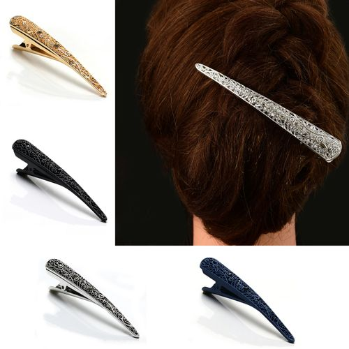 MINI CONCORDE HAIR GRIP ALLIGATOR CROCODILE BEAK CLIP CLIPS PK OF 4 ACCESSORIES