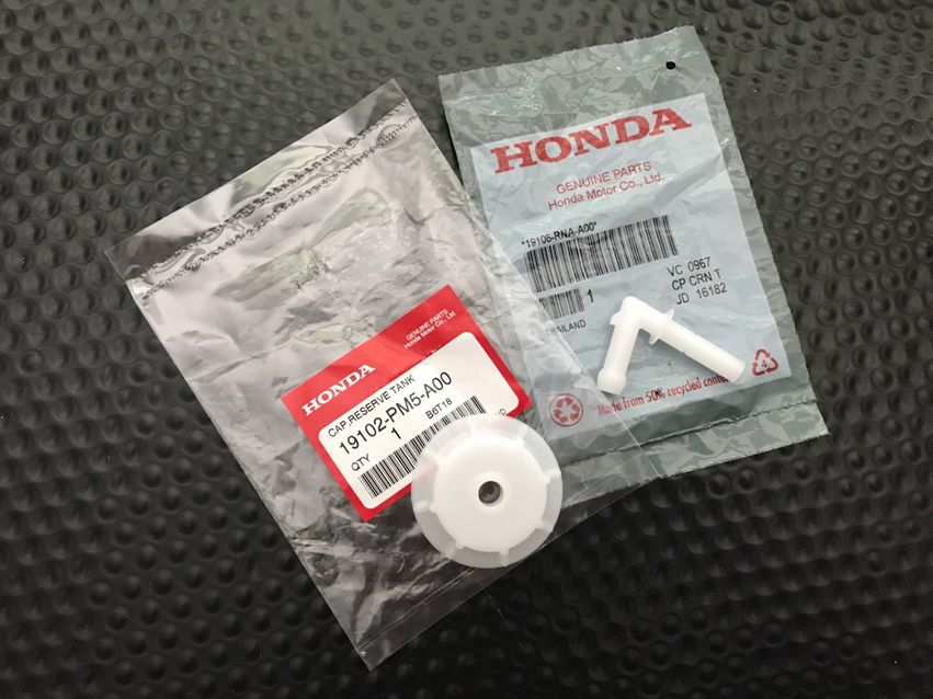 19106RNAA00 Engine Coolant Recovery Tank Joint 19106-RNA-A00 For Cap Honda