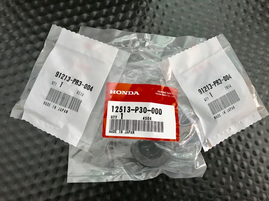 Black DOHC Dual Seal Cam Kit B16 B18 H22 VTEC For 90-09 Honda Acura B-Series