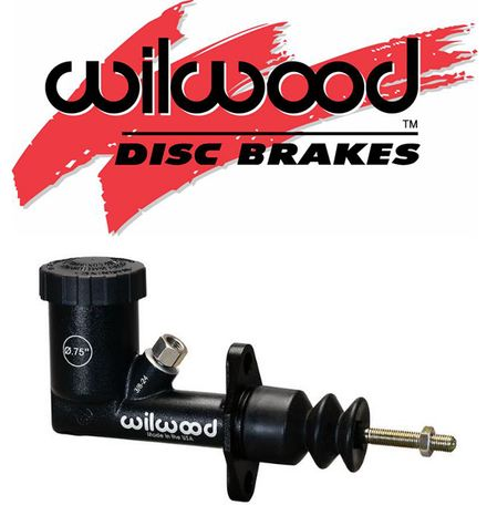"Wilwood 260-10372 NEW COMPACT DESIGN RACING MASTER CYLINDER,3//4/"""
