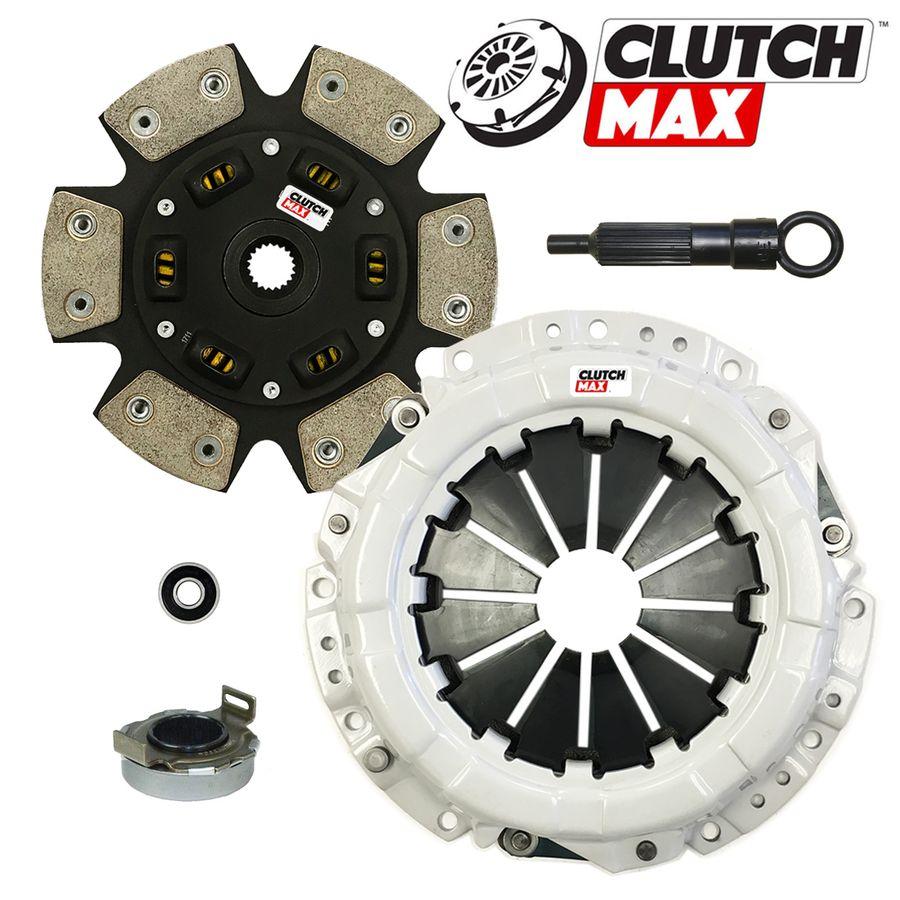 Stage 1 Clutch Kit Works With Chevy Tracker Geo Suzuki Sidekick X-90 Base Lsi JLX JS SE Sport Utility 1989-1998 1.6L l4 GAS SOHC 1.8L l4 GAS DOHC Naturally Aspirated