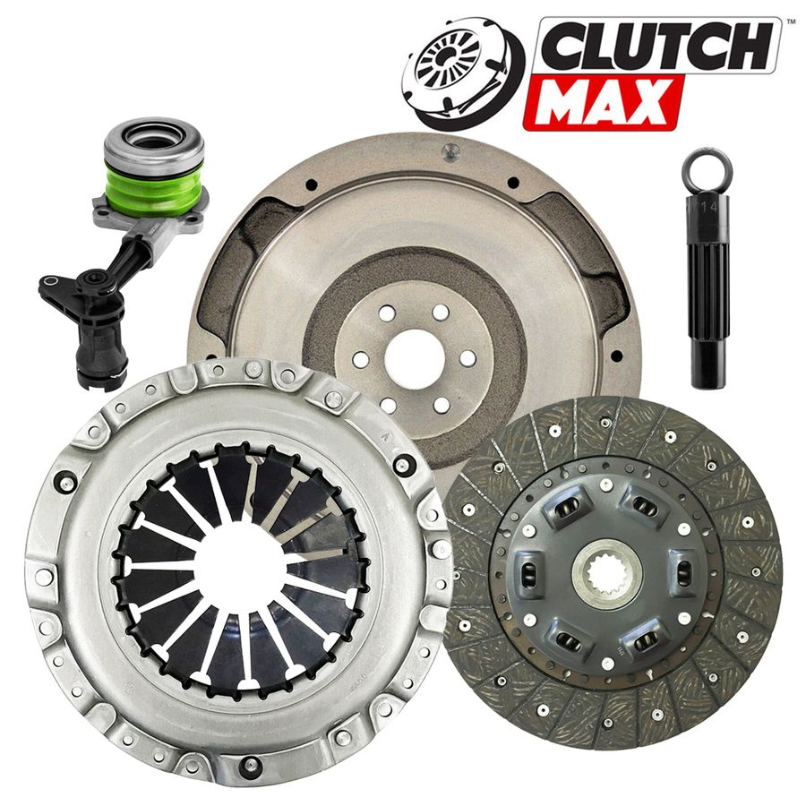 Clutch kit flywheel for 05-11 Chevrolet Cobalt HHR SPORT Pontiac G5 2.2L 2.4L DOHC 4Cyl