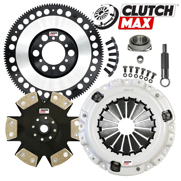 Ultim8 Stage 4 Highest Performance Clutch /& Flywheel COMBO Kit for Max Power Delivery /& Longer Life 08-017-4-C Fits 90-91 Acura Integra