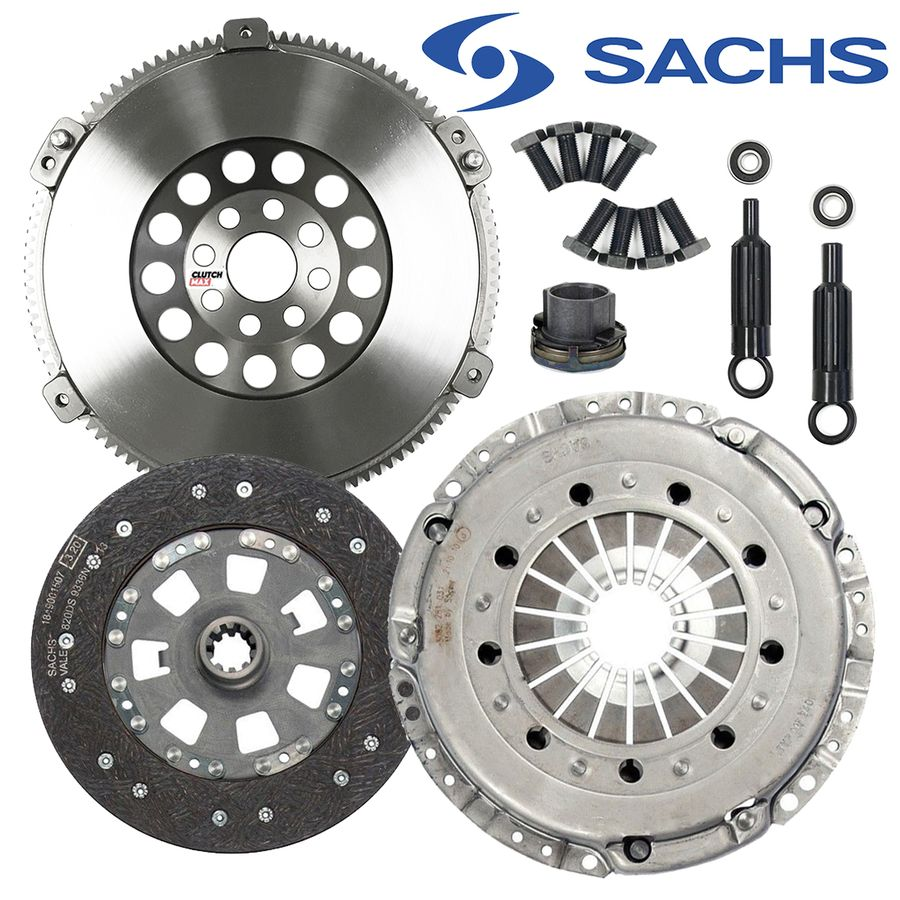 SACHS-STAGE 3 HD CLUTCH KIT+CHROMOLY FLYWHEEL Fits 92-98 BMW 325 328 M50 M52 E36