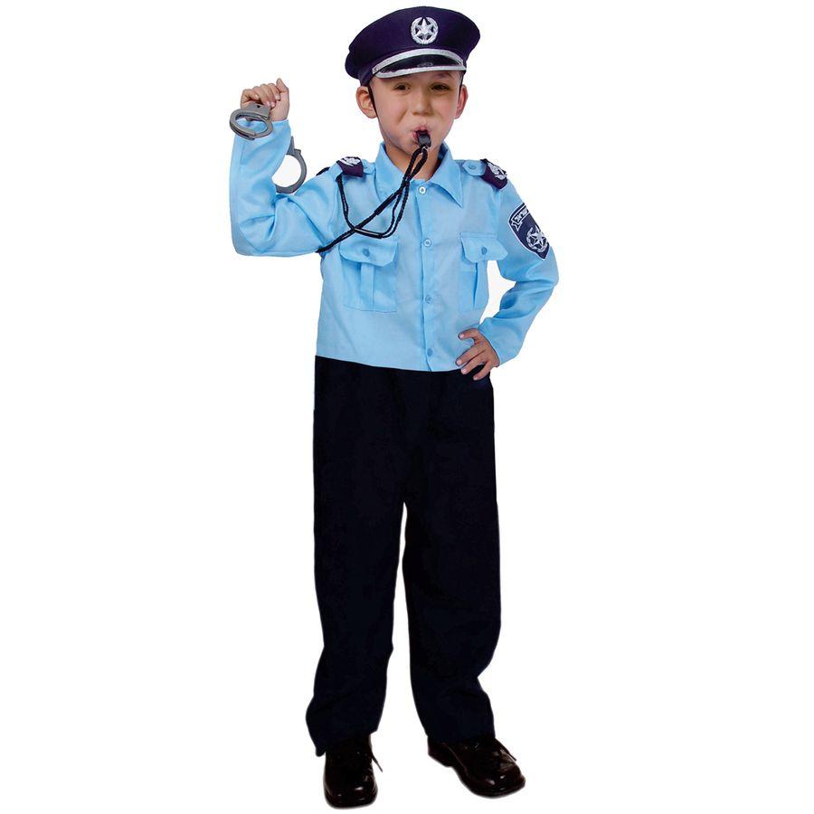 Dress Up America Israeli Police Officer Costume for Kids