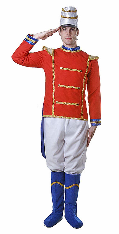 Details about Adult Toy Soldier Costume Set Fancy Dress